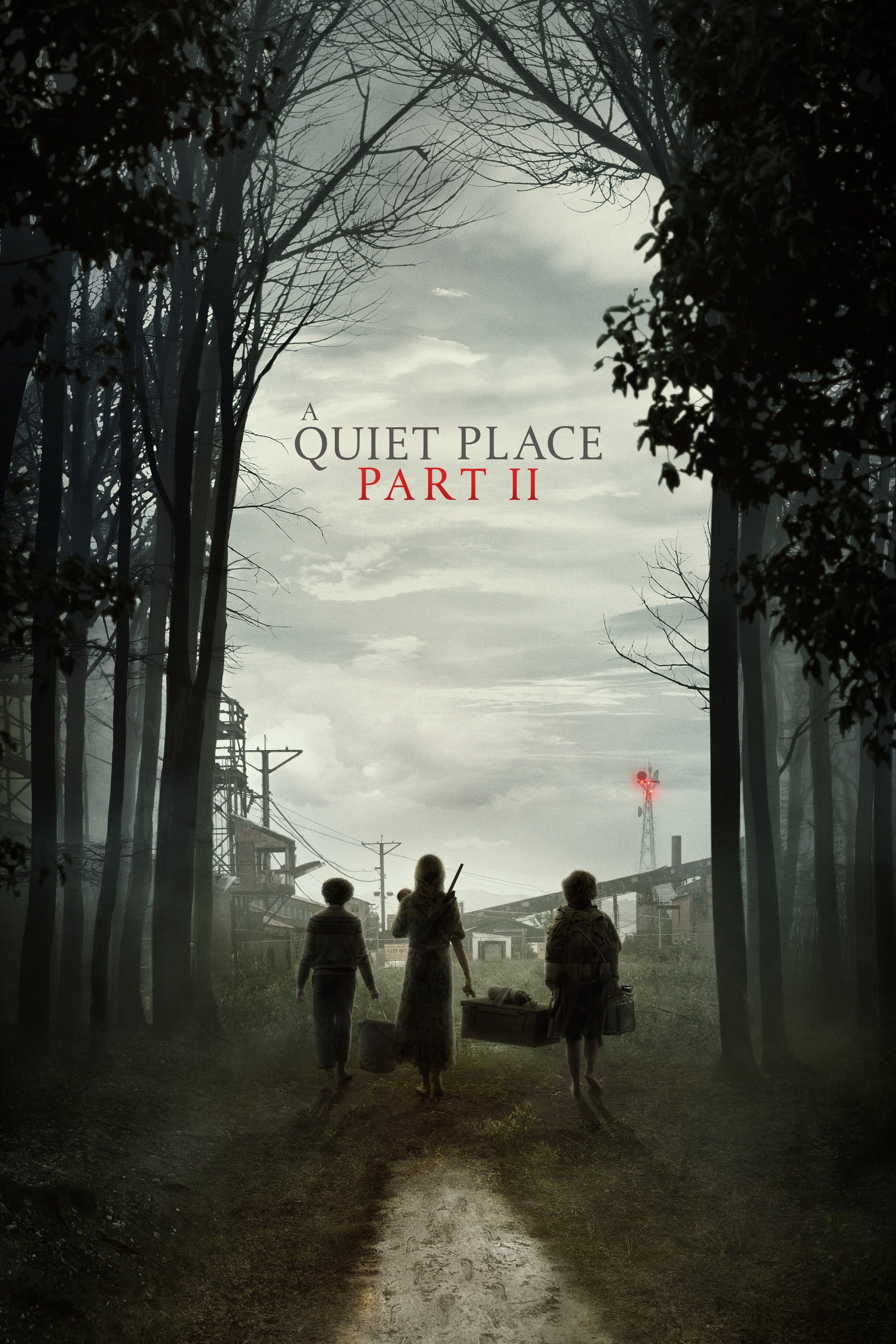 "Plakat von ""A Quiet Place Part II"""