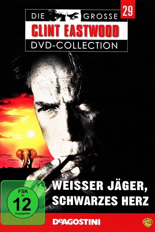 """Plakat von """"Weißer Jäger, schwarzes Herz"""""""