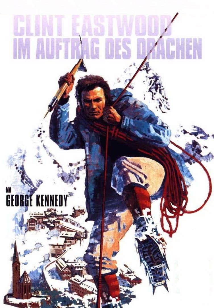"""Plakat von """"Im Auftrag des Drachen"""""""