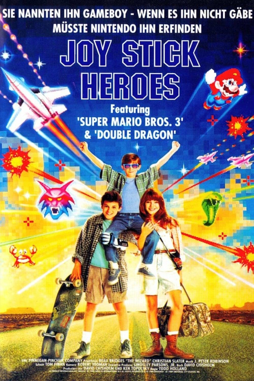 """Plakat von """"Joy Stick Heroes"""""""