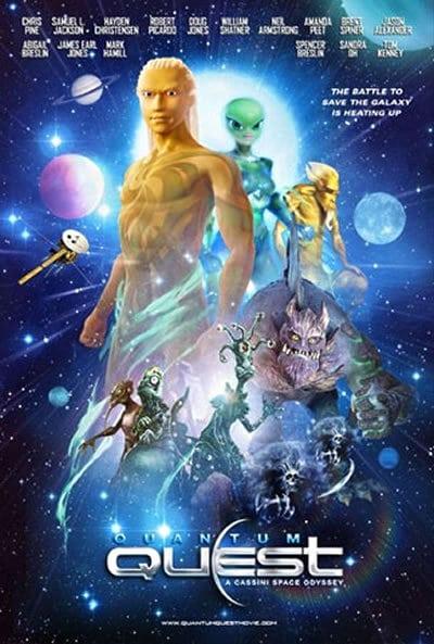 """Plakat von """"Quantum Quest: A Cassini Space Odyssey"""""""