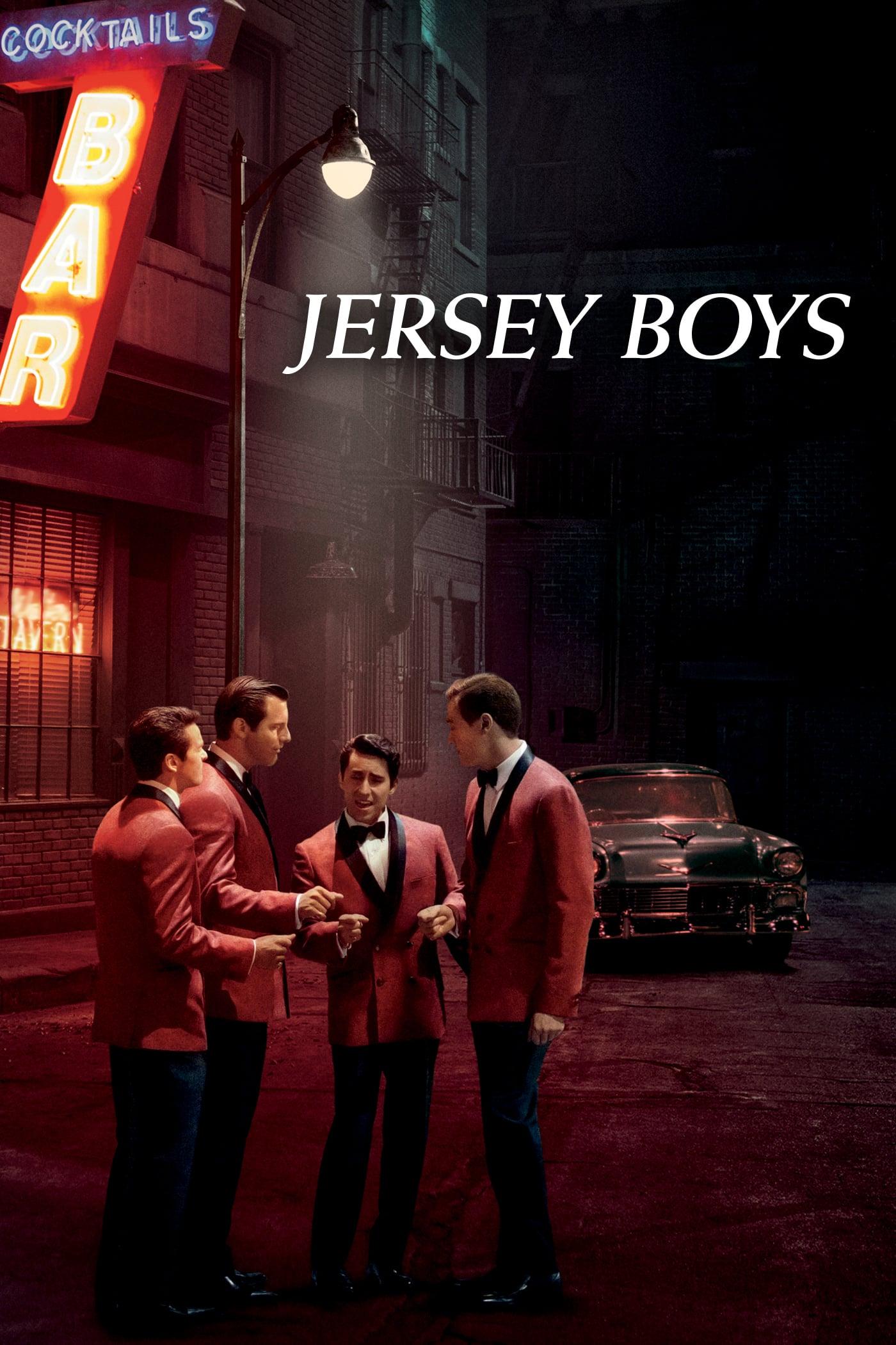 """Plakat von """"Jersey Boys"""""""