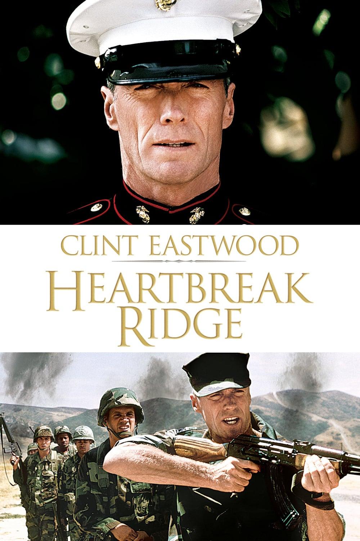 """Plakat von """"Heartbreak Ridge"""""""
