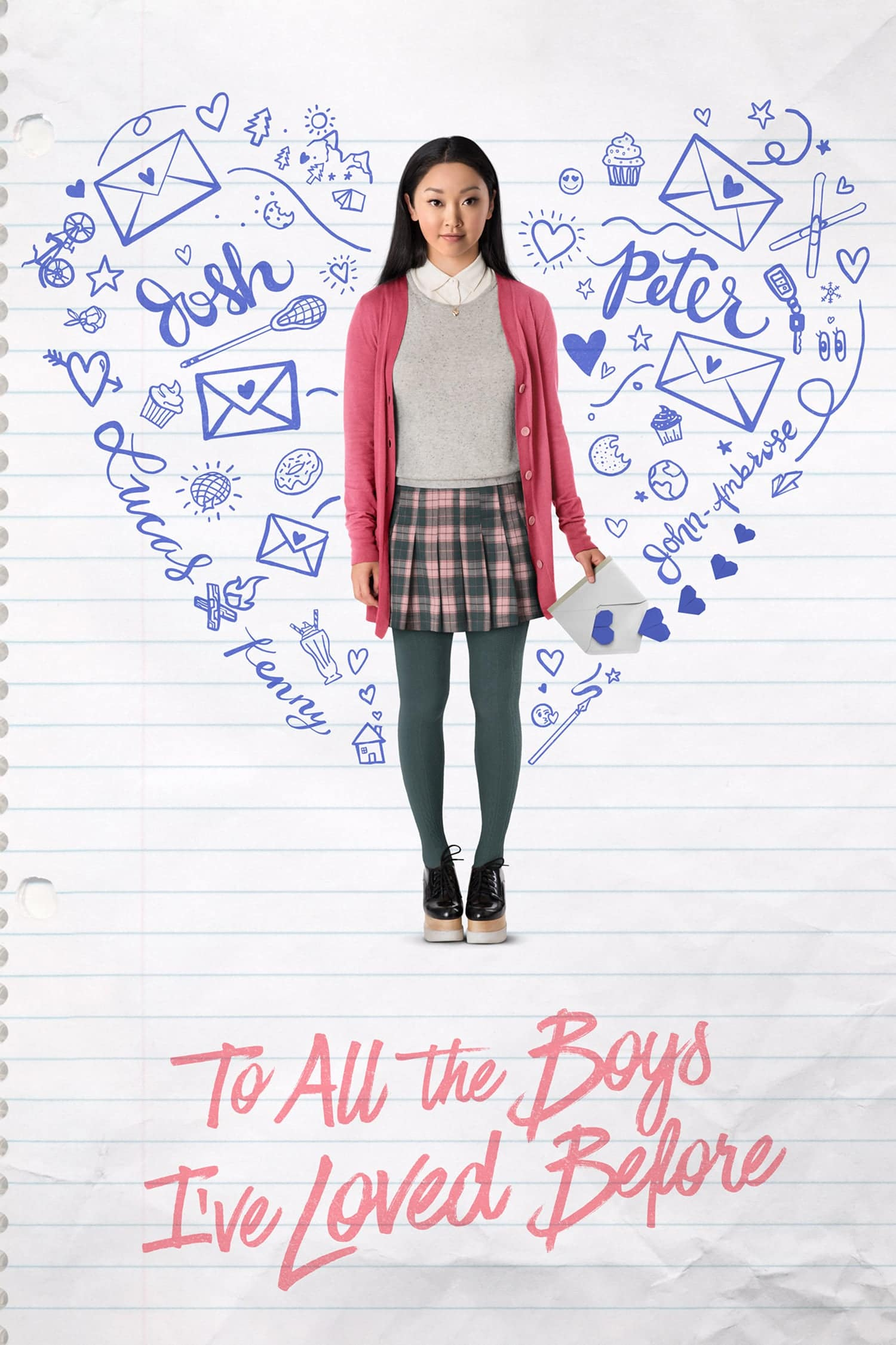 """Plakat von """"To All the Boys I've Loved Before"""""""