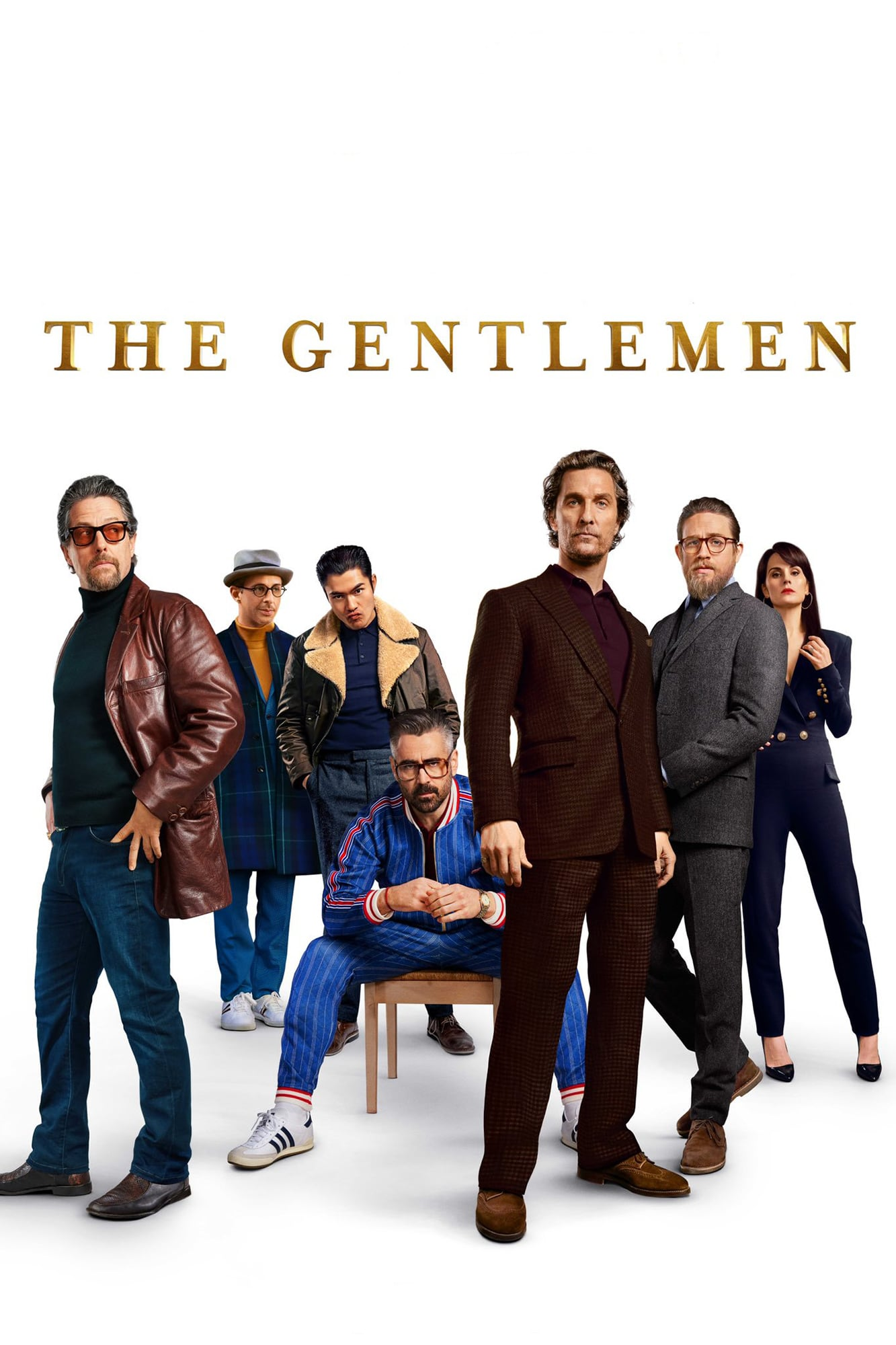 "Plakat von ""The Gentlemen"""