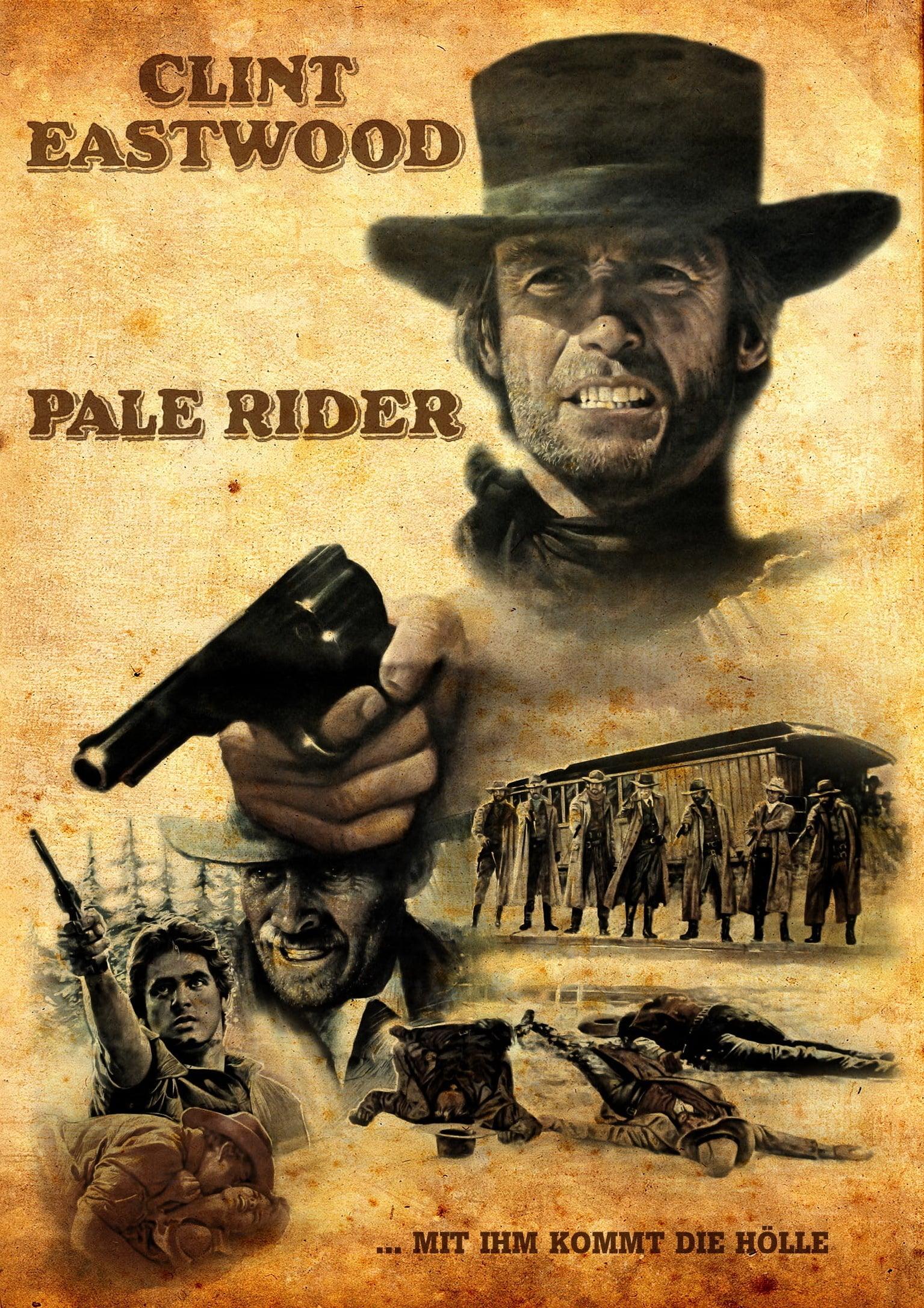 """Plakat von """"Pale Rider - Der namenlose Reiter"""""""