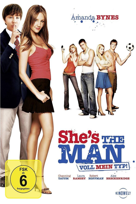 """Plakat von """"She's the Man - Voll mein Typ"""""""