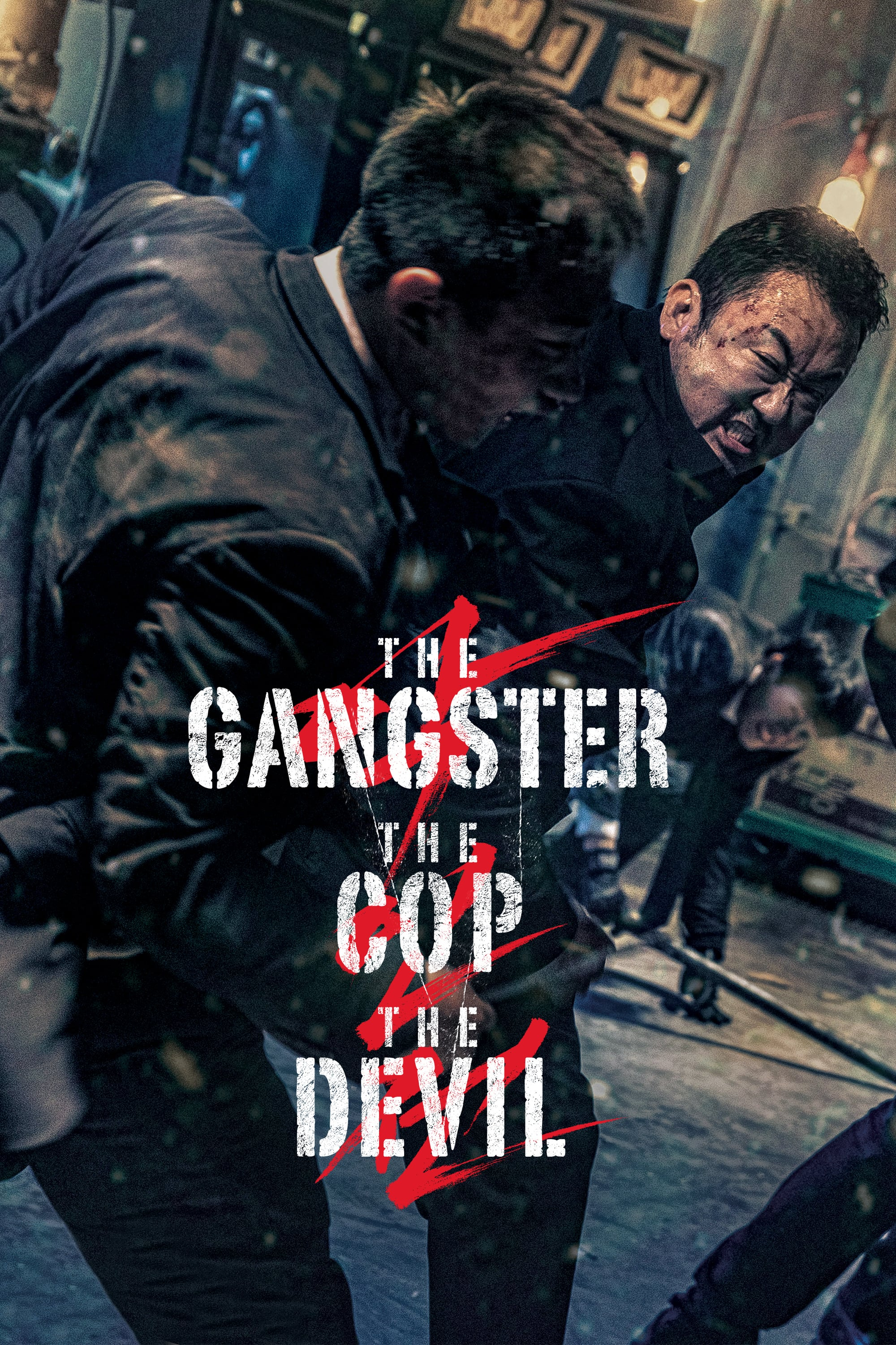"Plakat von ""The Gangster, The Cop, The Devil"""