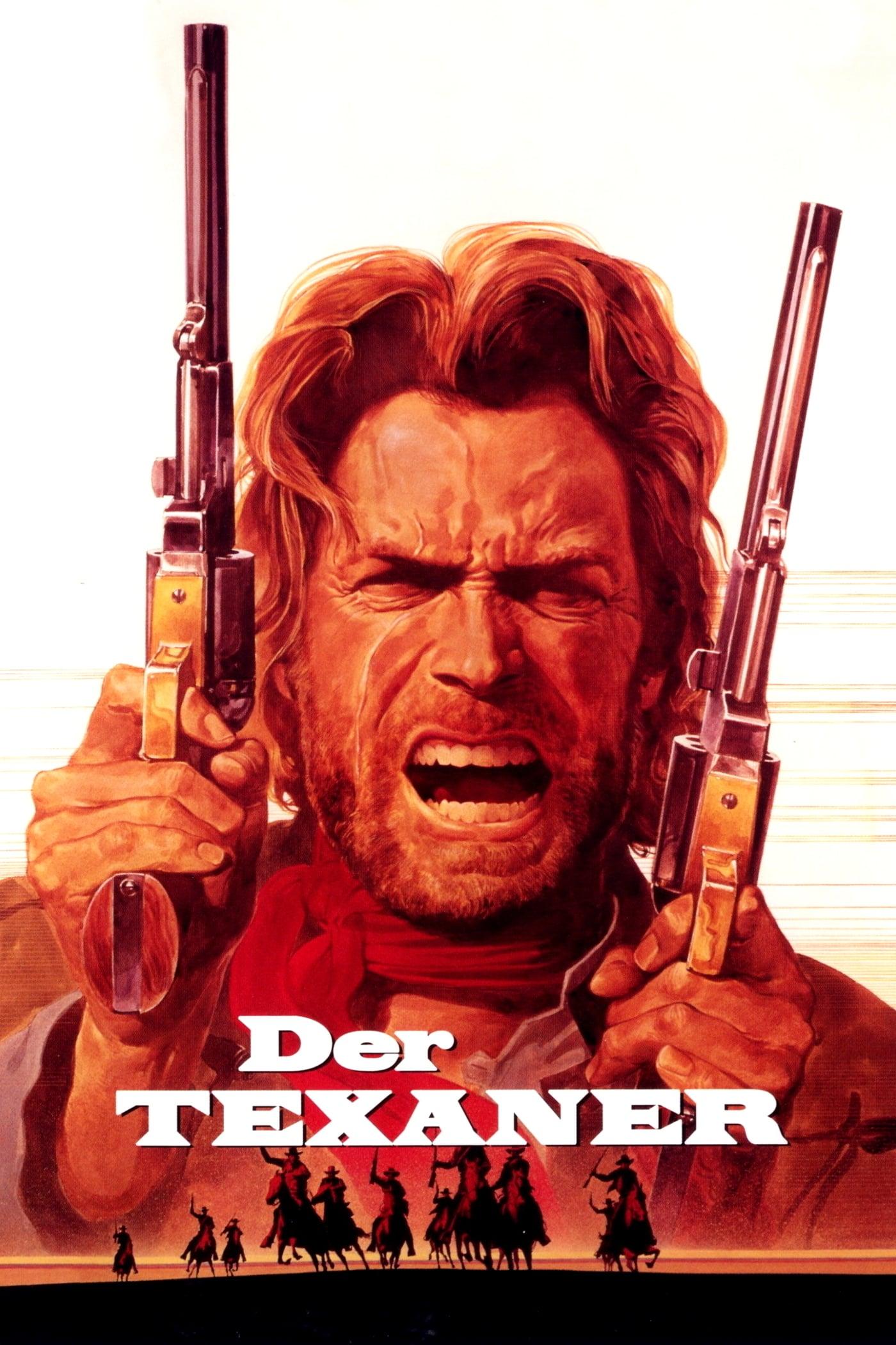 """Plakat von """"Der Texaner"""""""
