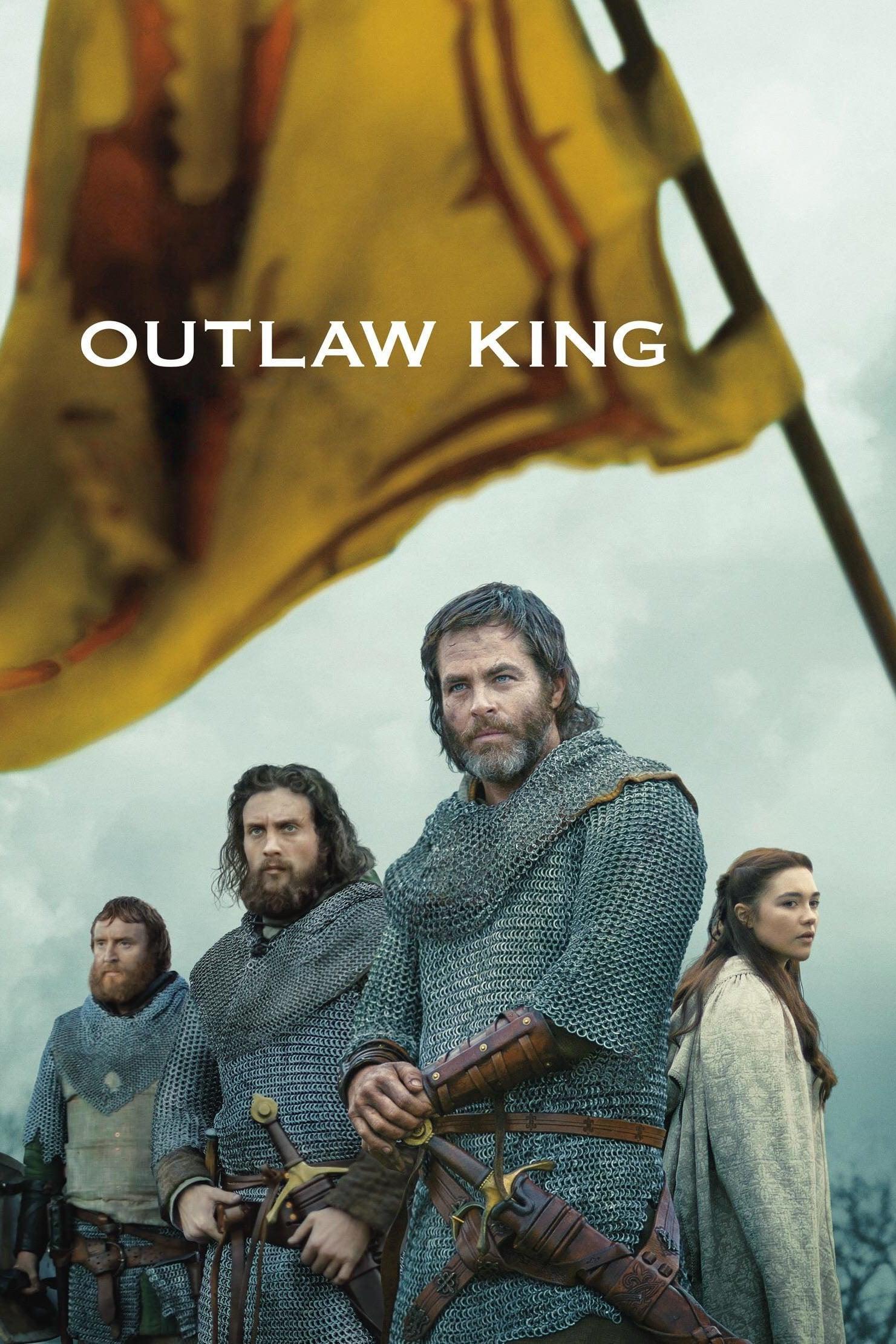 """Plakat von """"Outlaw King"""""""