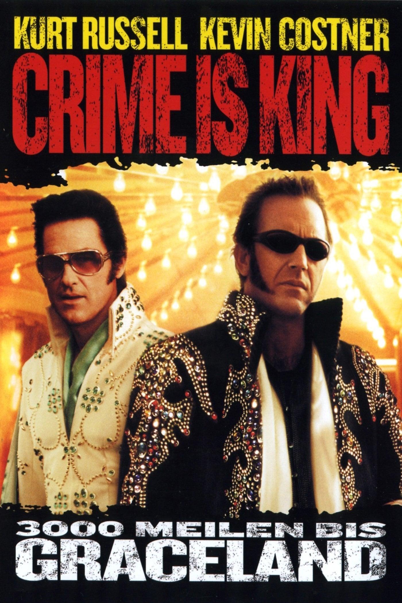 """Plakat von """"Crime is King"""""""