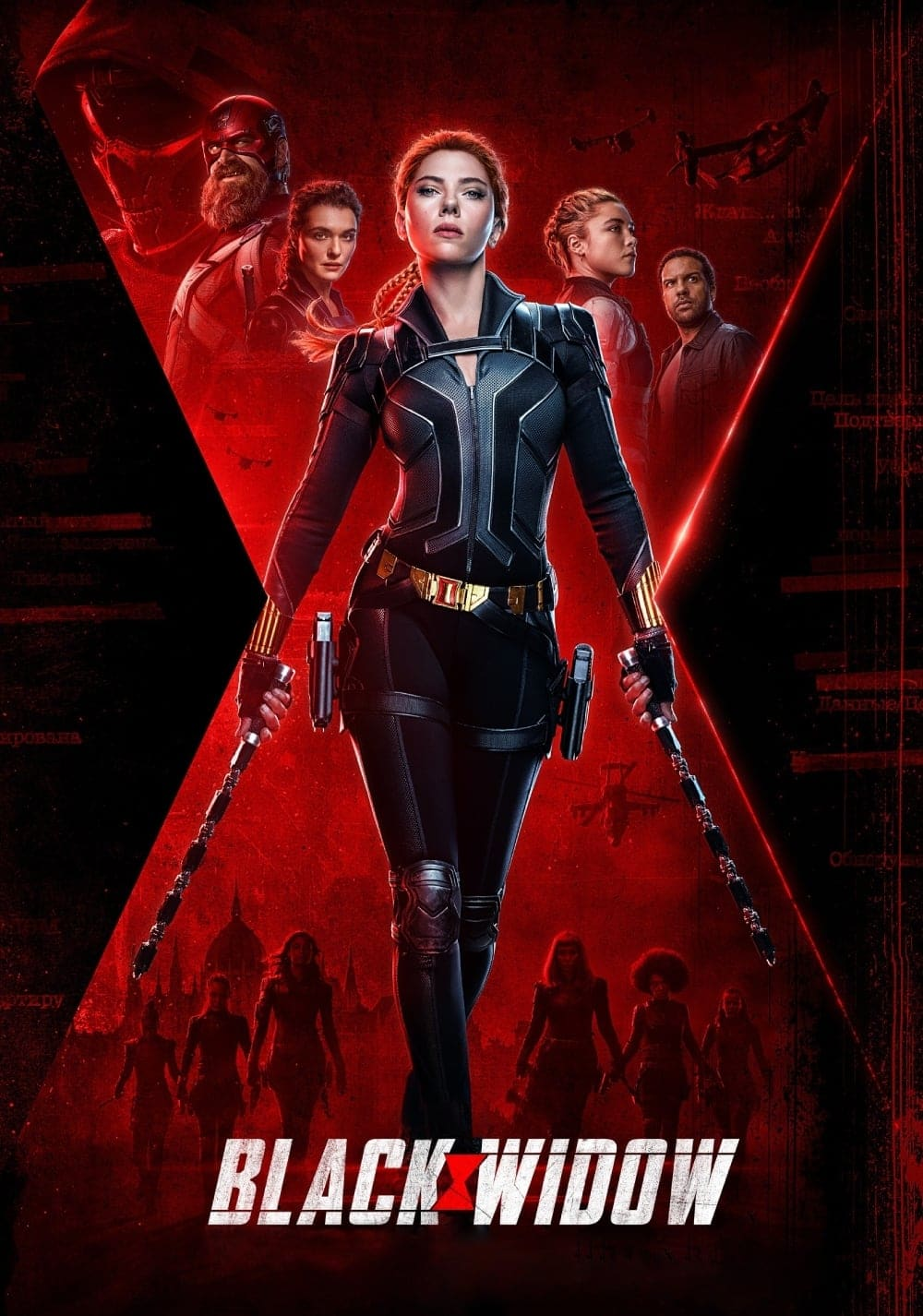 "Plakat von ""Black Widow"""