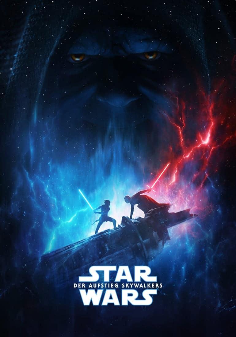 """Plakat von """"Star Wars: Der Aufstieg Skywalkers"""""""