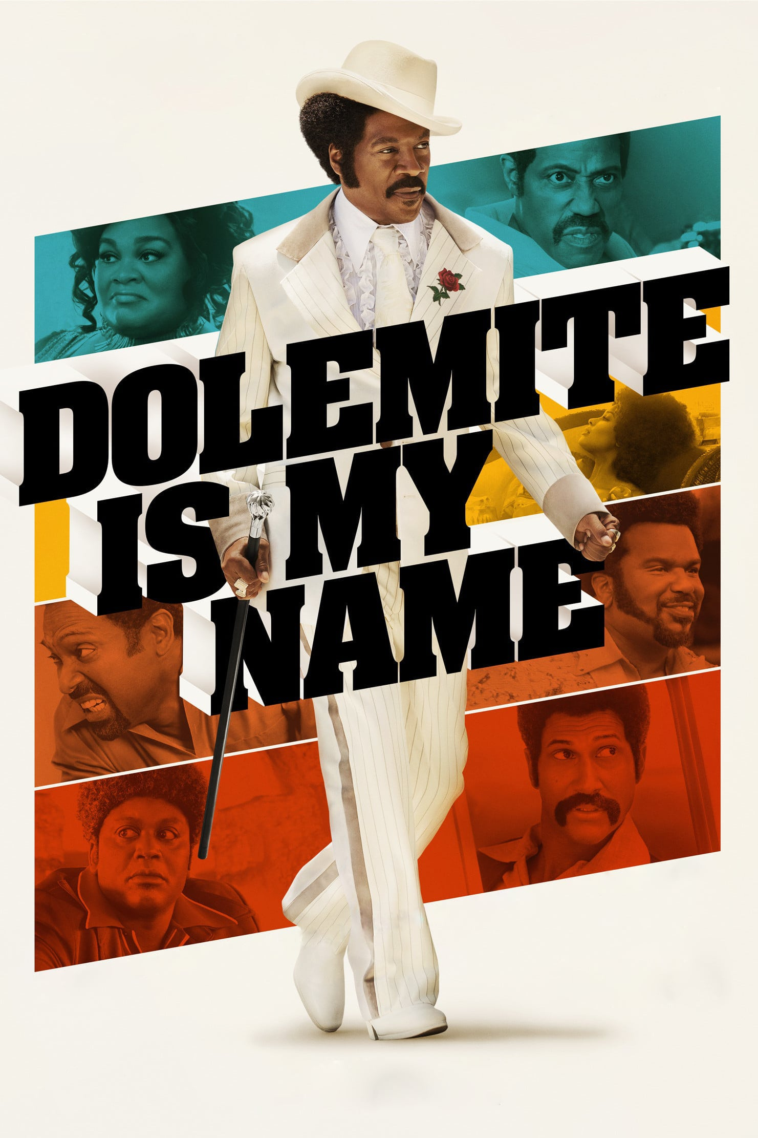 "Plakat von ""Dolemite Is My Name"""