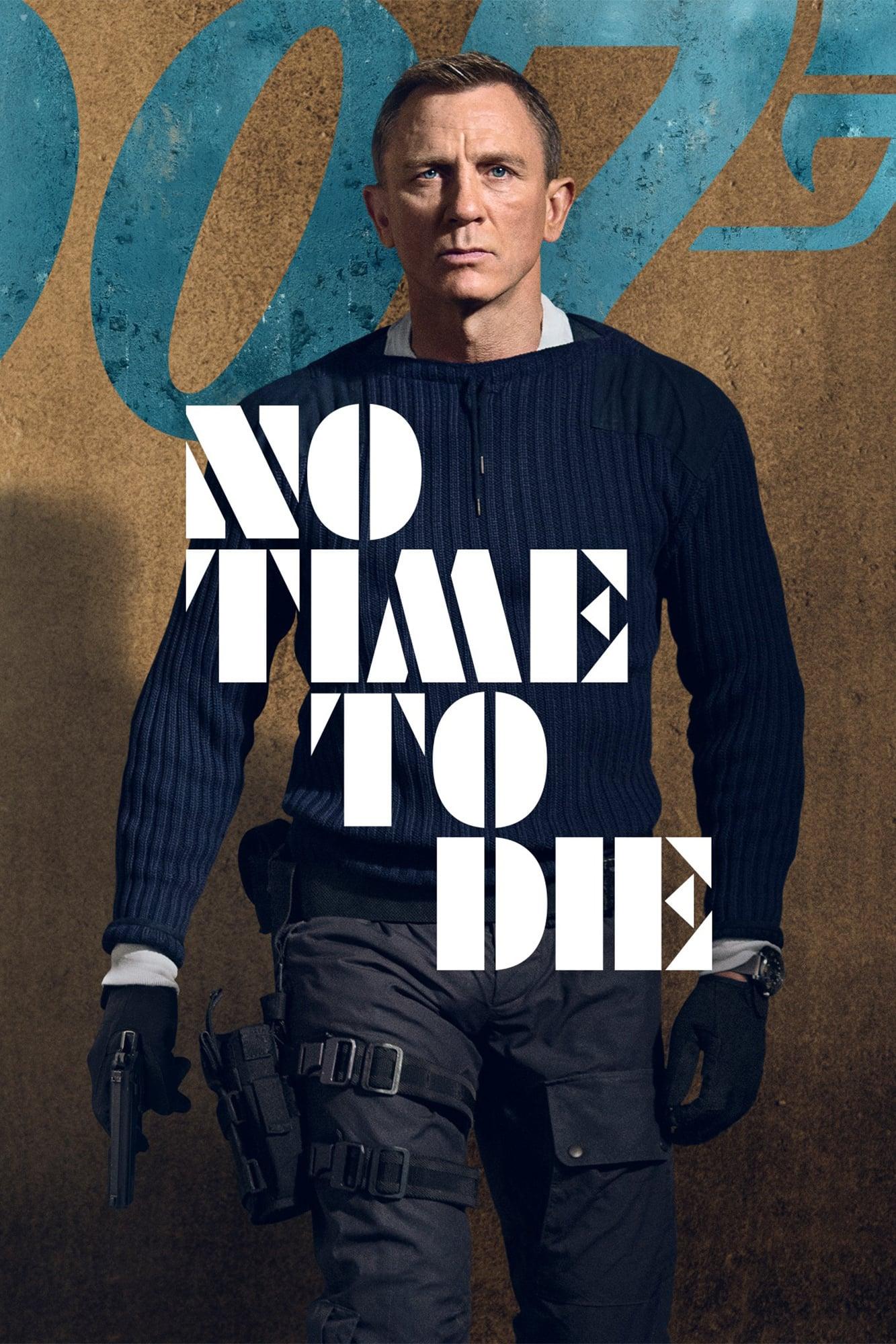 """Plakat von """"James Bond 007: Keine Zeit zu sterben"""""""