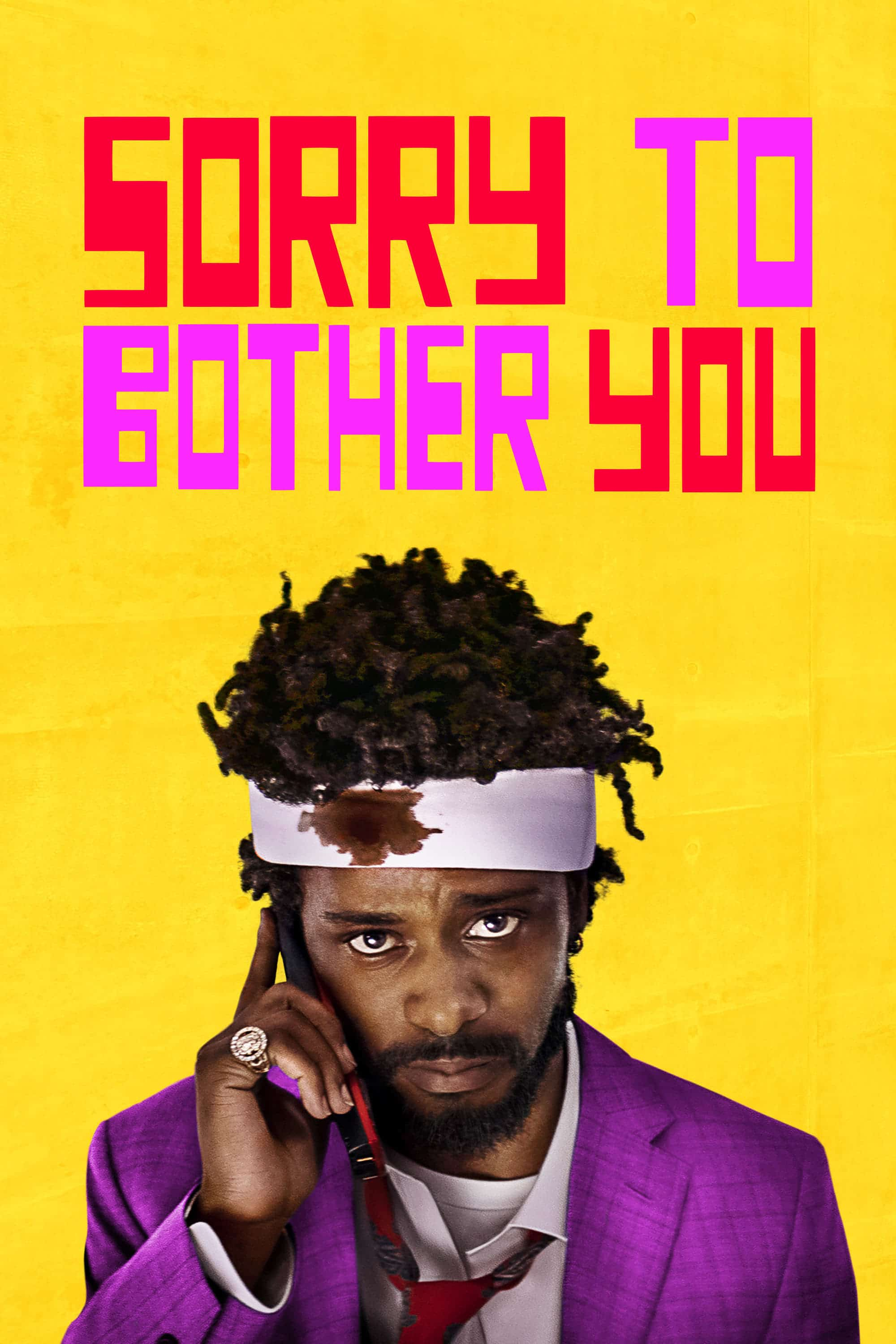 """Plakat von """"Sorry to Bother You"""""""