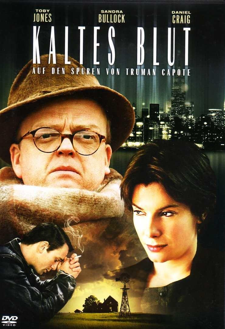 """Plakat von """"Kaltes Blut - Auf den Spuren von Truman Capote"""""""