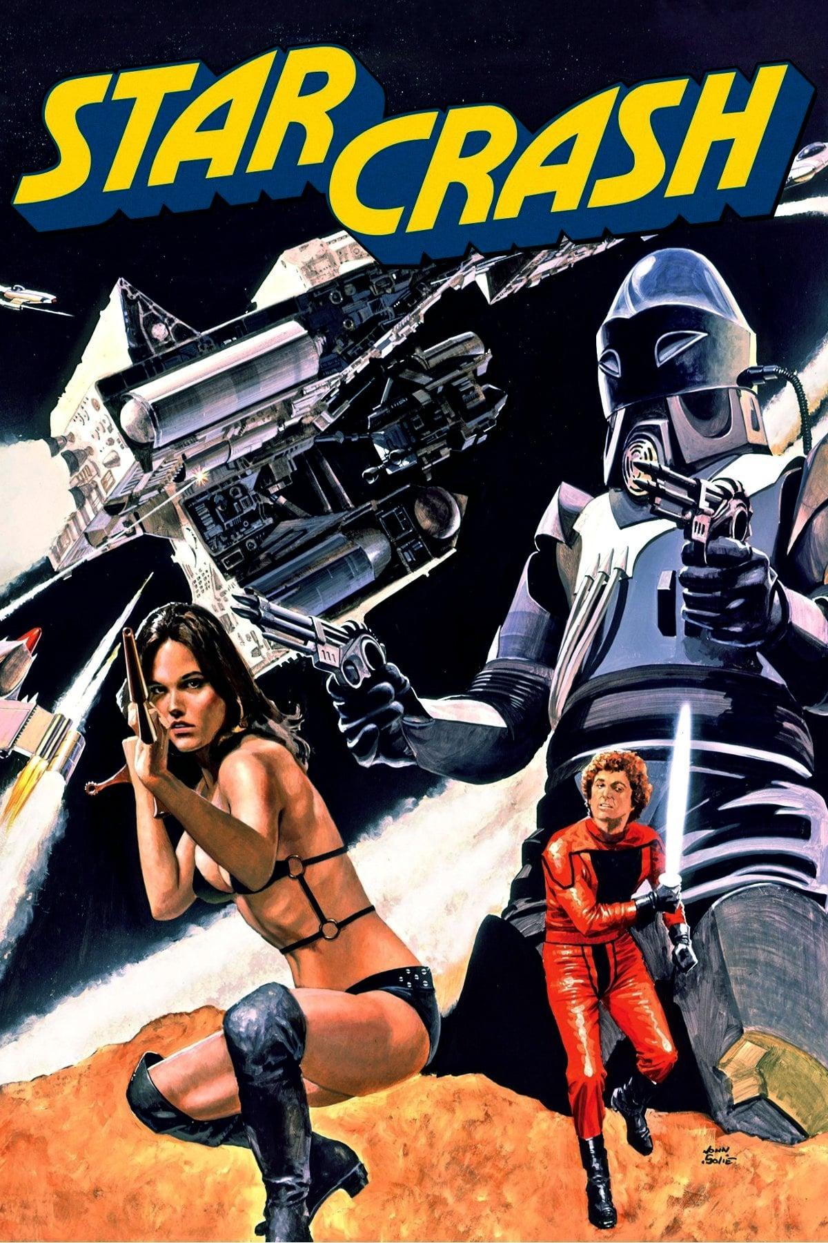 """Plakat von """"Star Crash - Sterne im Duell"""""""