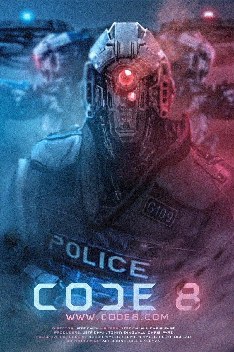 """Plakat von """"Code 8"""""""