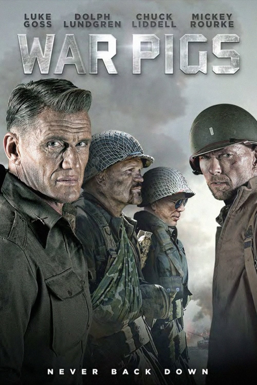 """Plakat von """"War Pigs"""""""