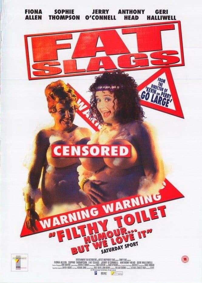 "Plakat von ""Fat Slags"""