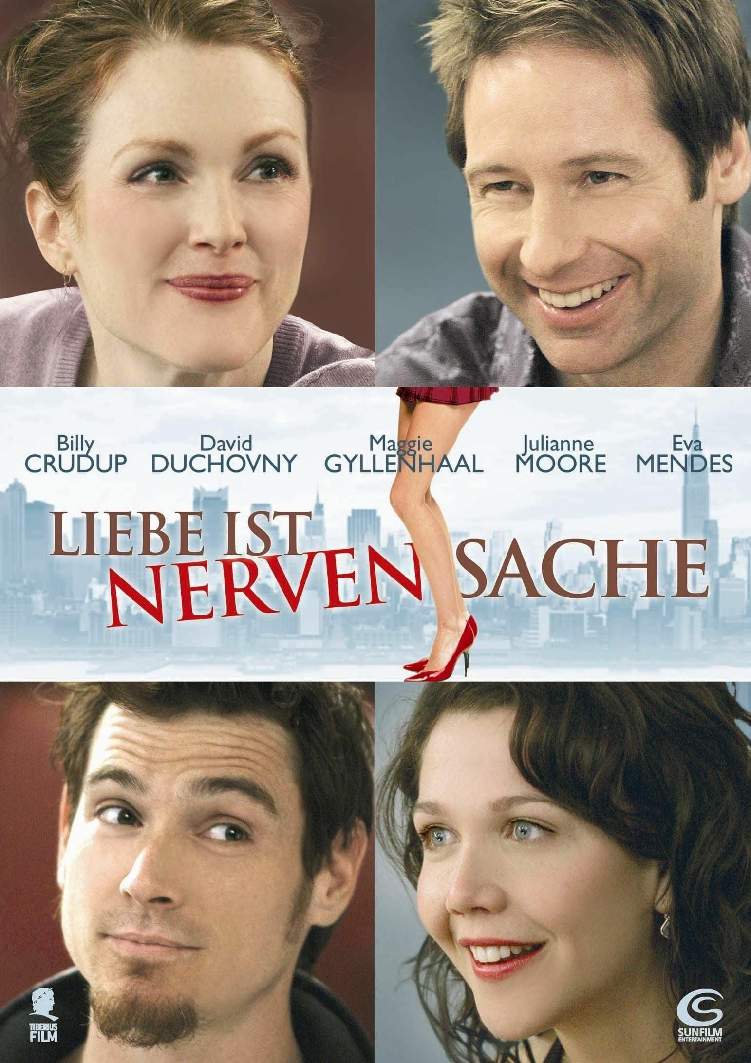 """Plakat von """"Liebe ist Nervensache"""""""