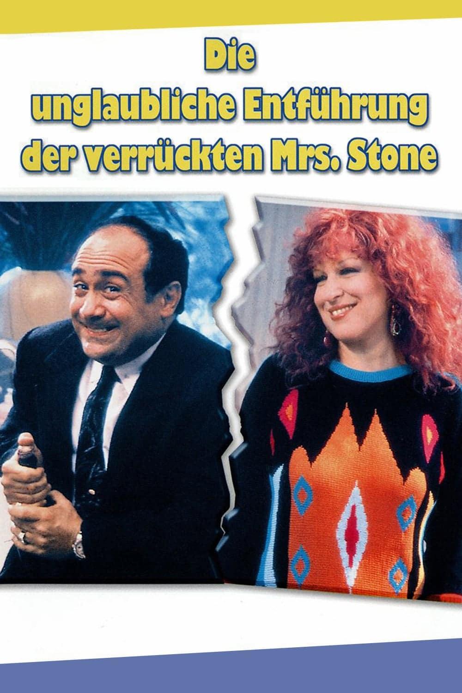 """Plakat von """"Die unglaubliche Entführung der verrückten Mrs. Stone"""""""