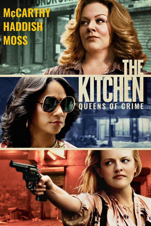 """Plakat von """"The Kitchen – Queens of Crime"""""""
