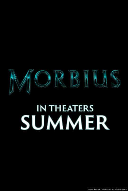 """Plakat von """"Morbius"""""""