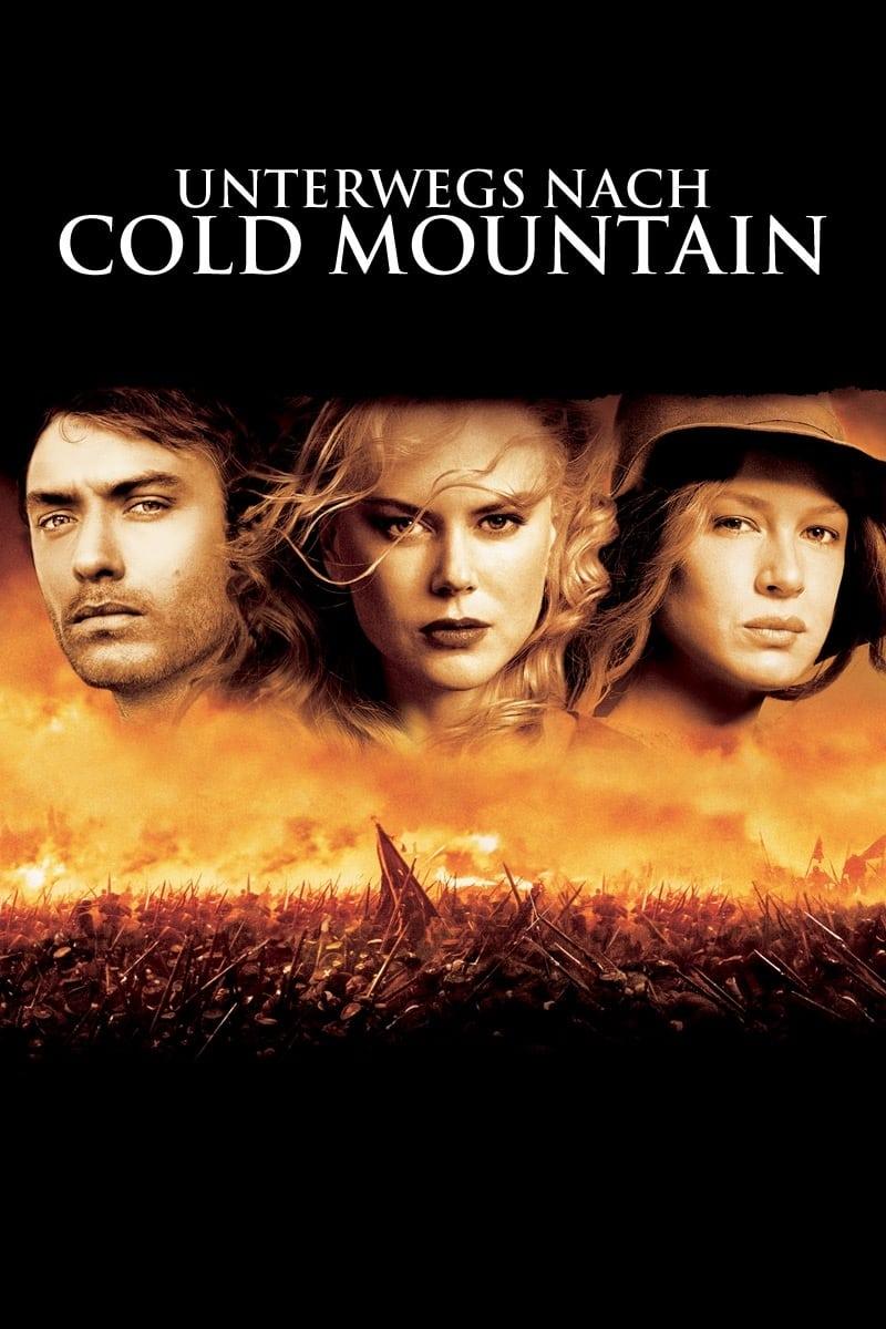 """Plakat von """"Unterwegs nach Cold Mountain"""""""