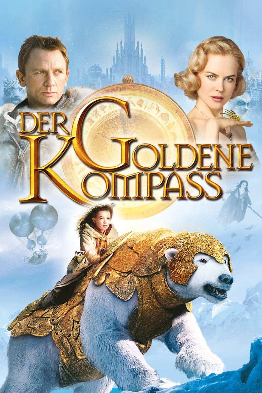 """Plakat von """"Der goldene Kompass"""""""