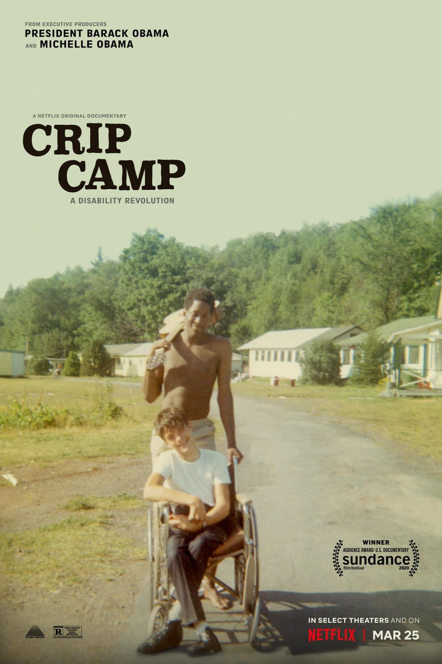 """Plakat von """"Crip Camp"""""""