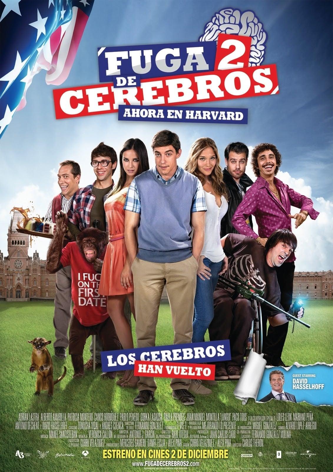 """Plakat von """"Fuga de cerebros 2"""""""