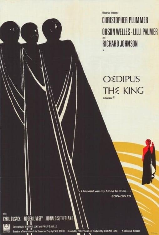 """Plakat von """"Oedipus the King"""""""