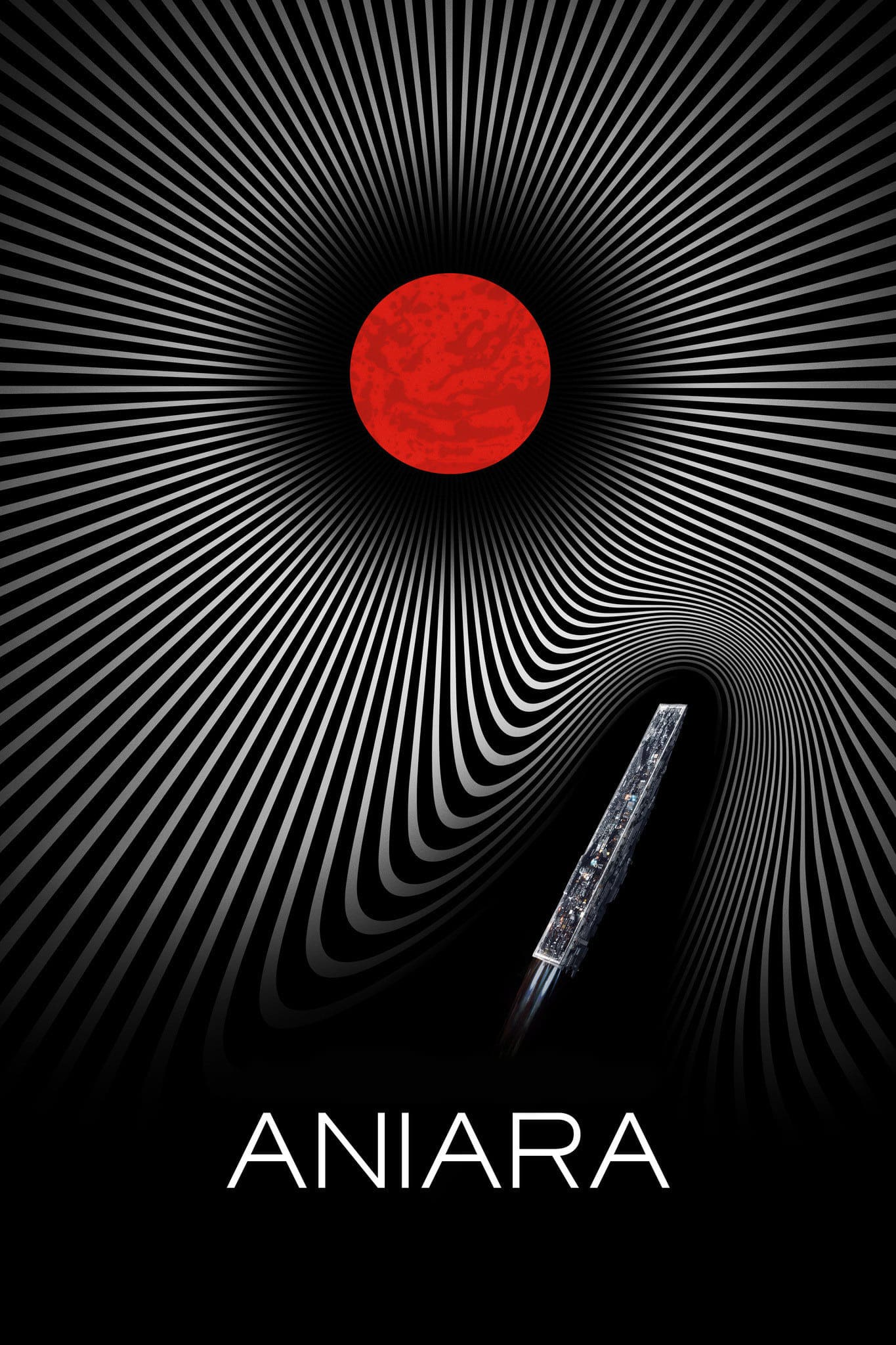 """Plakat von """"Aniara"""""""