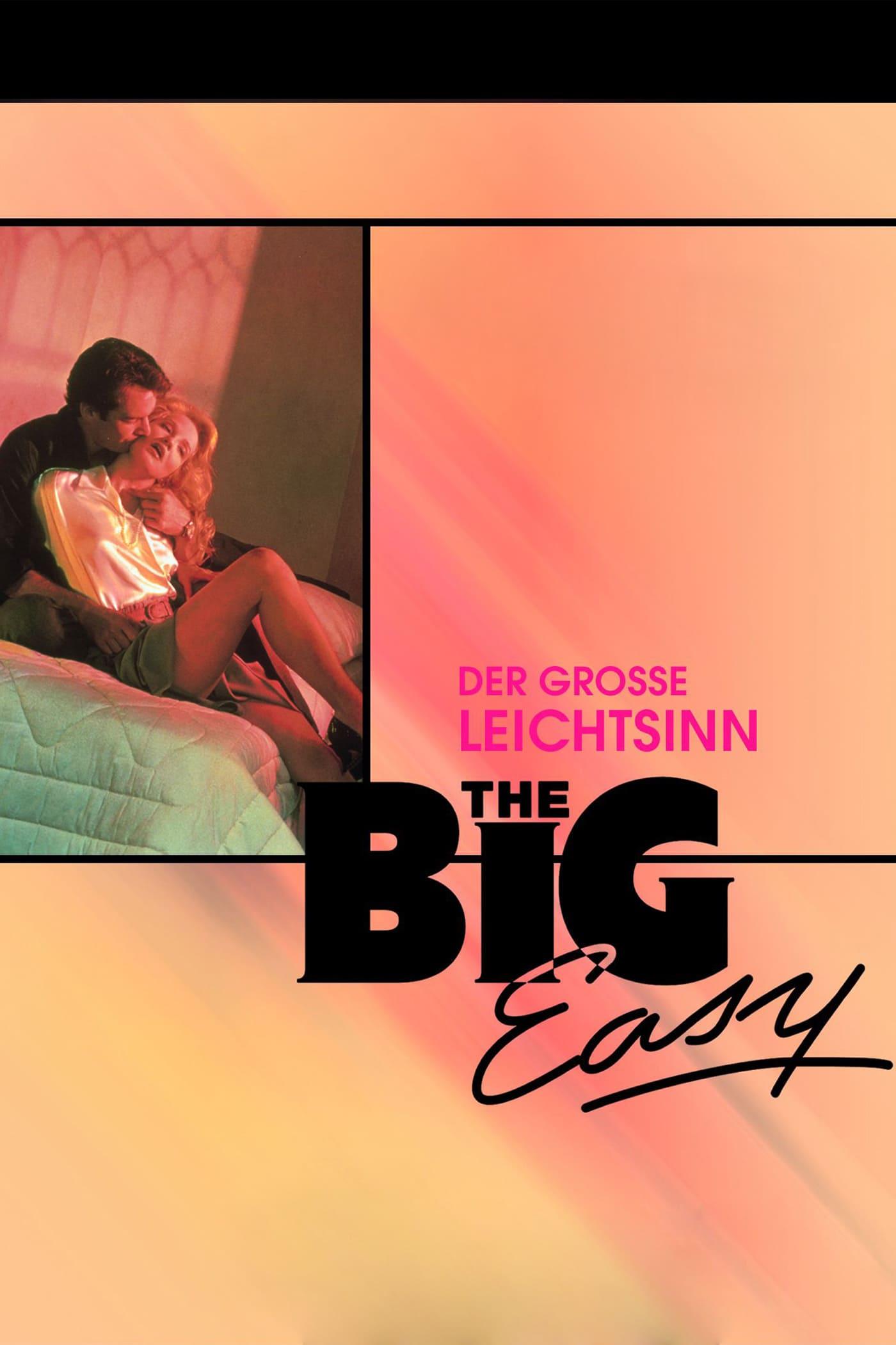 """Plakat von """"The Big Easy - Der große Leichtsinn"""""""