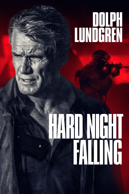 "Plakat von ""Hard Night Falling"""