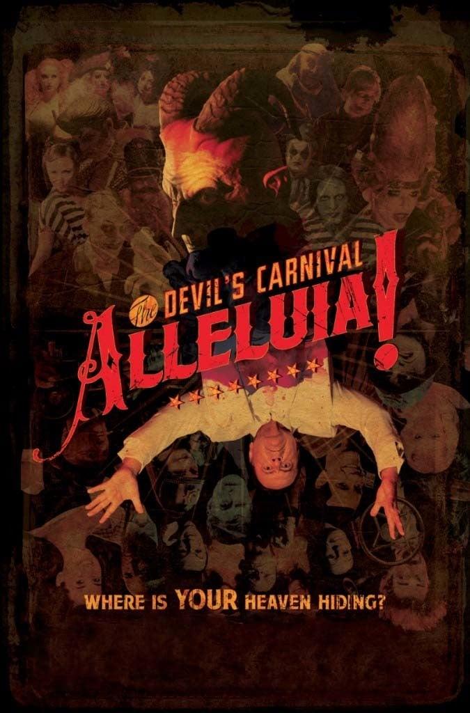 """Plakat von """"Alleluia! The Devil's Carnival"""""""