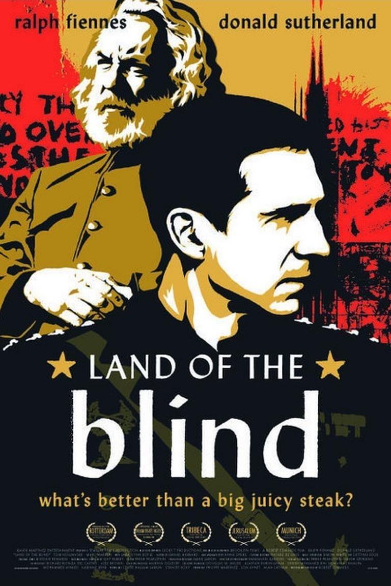 """Plakat von """"Land of the Blind"""""""
