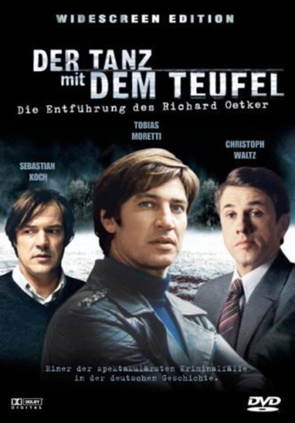 """Plakat von """"Der Tanz mit dem Teufel - Die Entführung des Richard Oetker"""""""