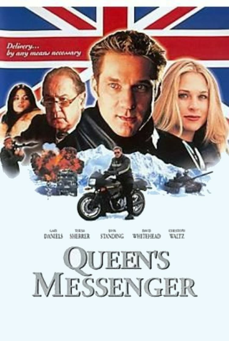 "Plakat von ""Queen's Messenger"""