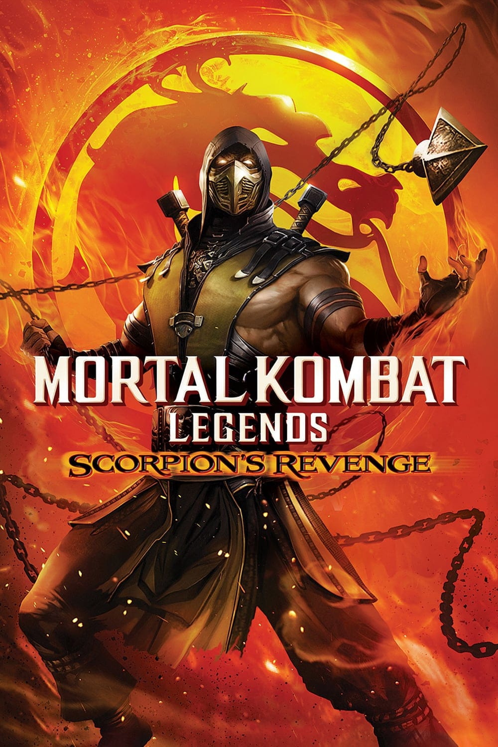 "Plakat von ""Mortal Kombat Legends: Scorpion's Revenge"""