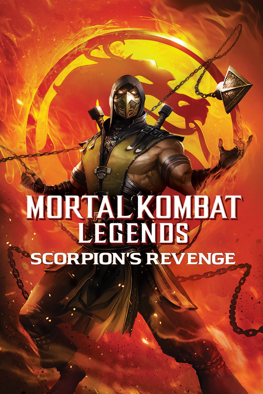 "Plakat von ""Mortal Kombat Legends: Scorpions Revenge"""