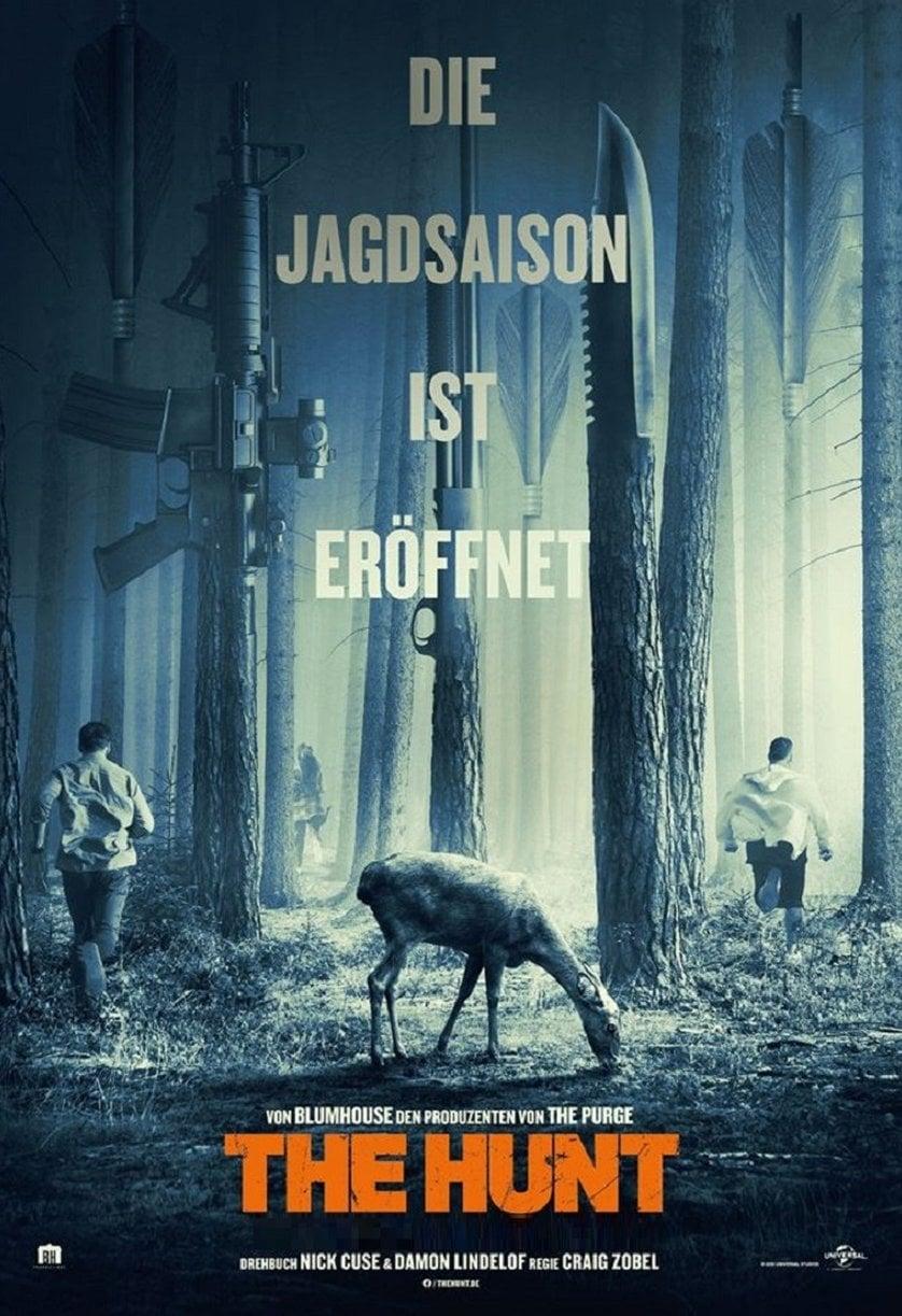 """Plakat von """"The Hunt"""""""