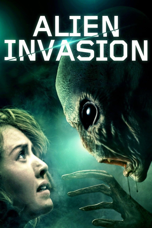 """Plakat von """"Alien Invasion"""""""