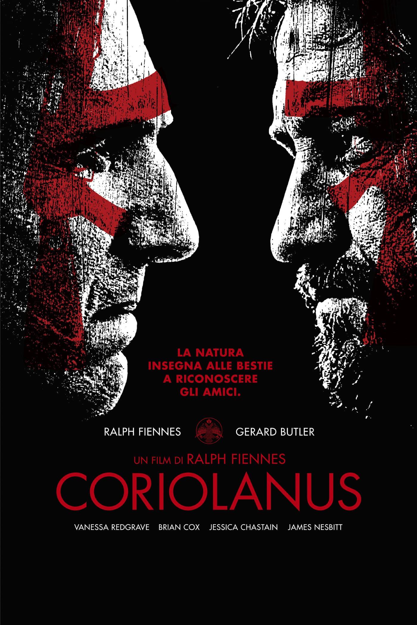 """Plakat von """"Coriolanus"""""""