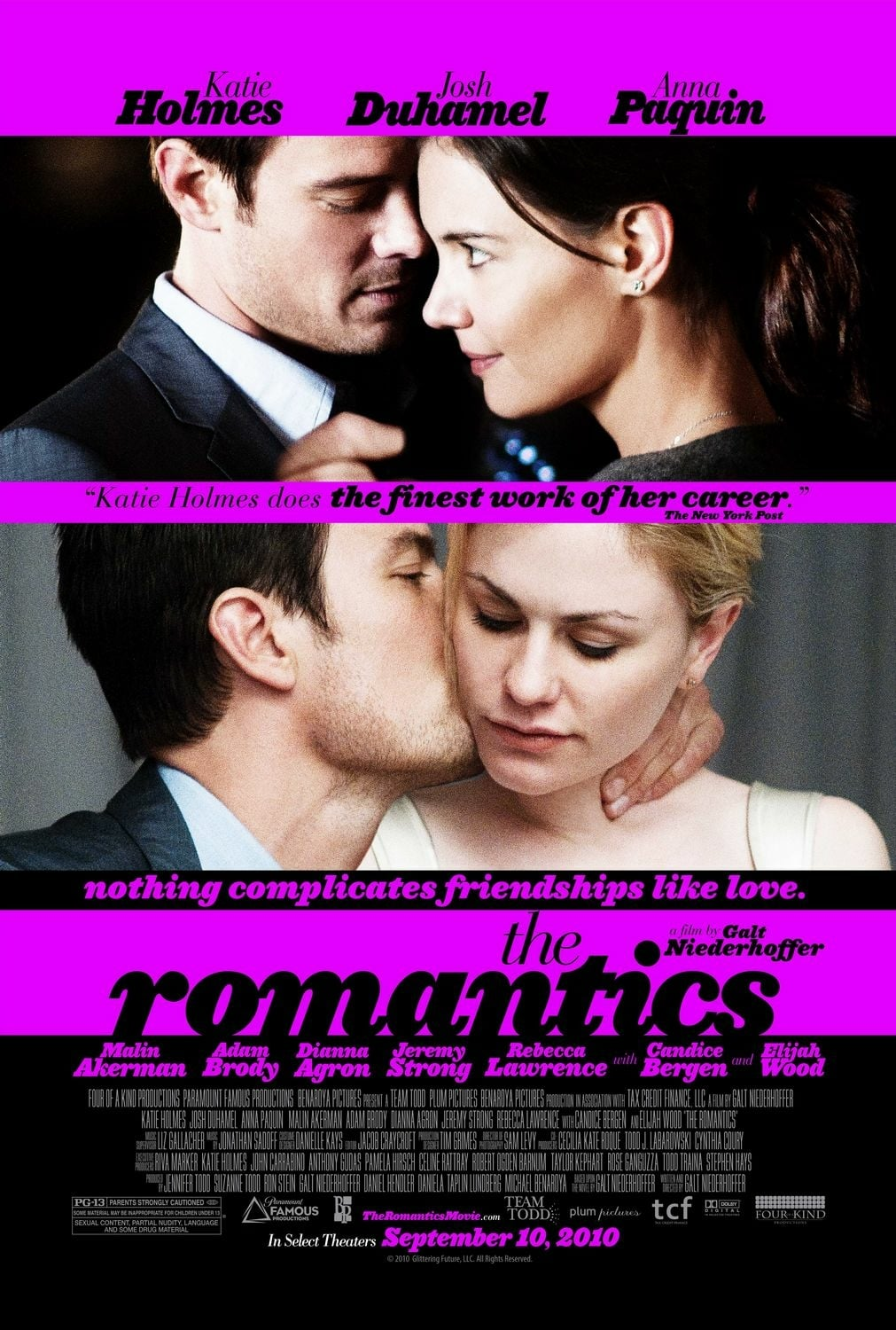 "Plakat von ""The Romantics"""