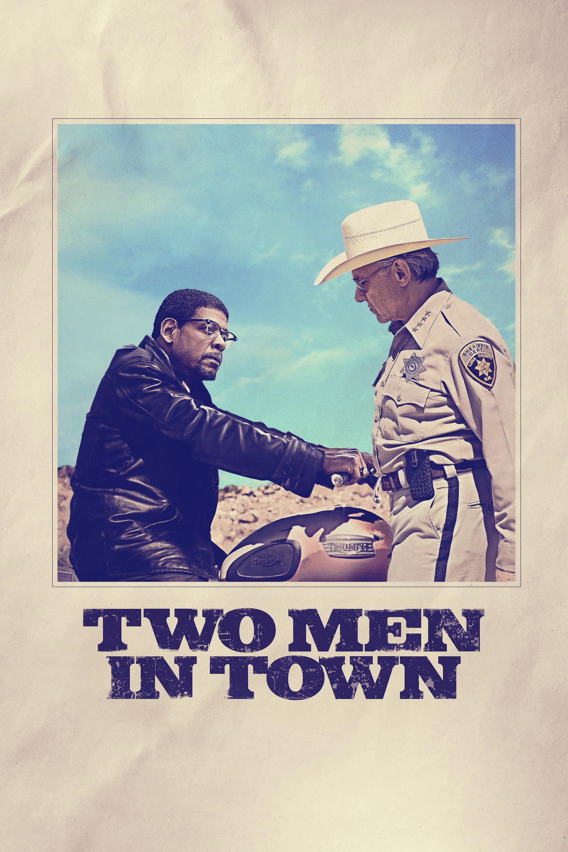 """Plakat von """"Two Men in Town"""""""