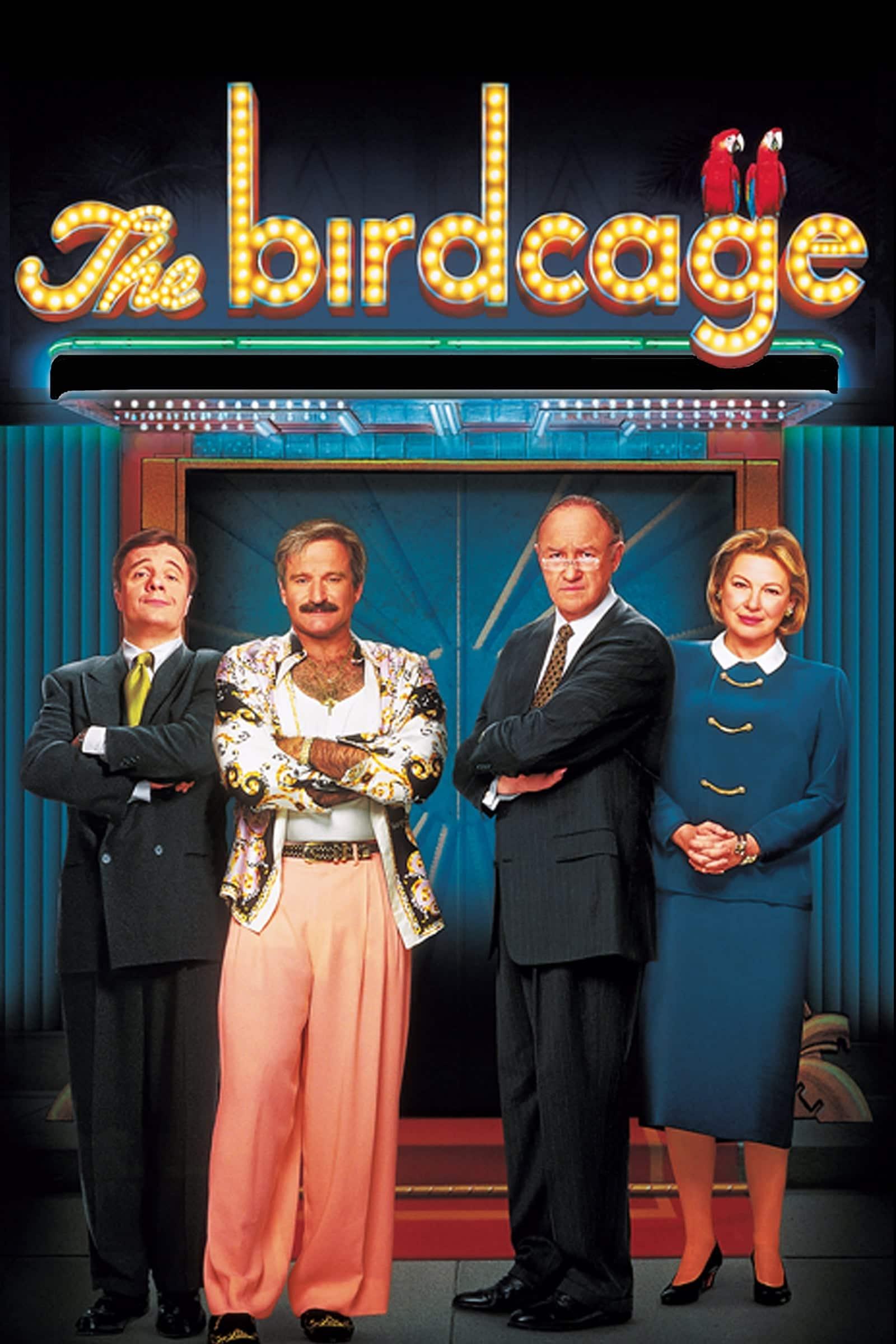 """Plakat von """"The Birdcage - Ein Paradies für schrille Vögel"""""""