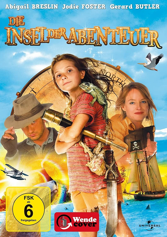 """Plakat von """"Die Insel der Abenteuer"""""""